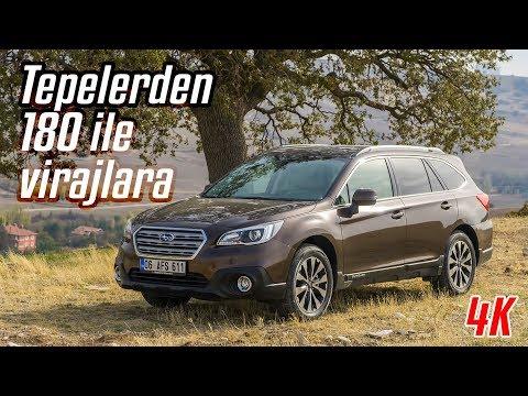 "Subaru Outback I Tepelerden 180 ile Virajlara ""İnceleme"" 4K"