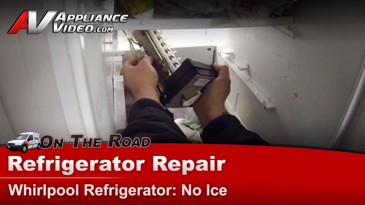 Refrigerator Repair Ice Maker Not Dispensing Whirlpool