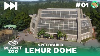 Lemur Dome Speedbuild - Planet Zoo Gamescom 2019 #01