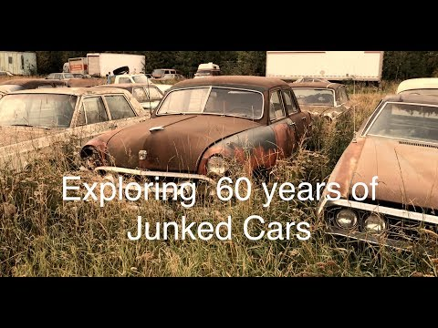 Junkyard Gems! Checking 60 years of classic cars stashed in a scrapyard