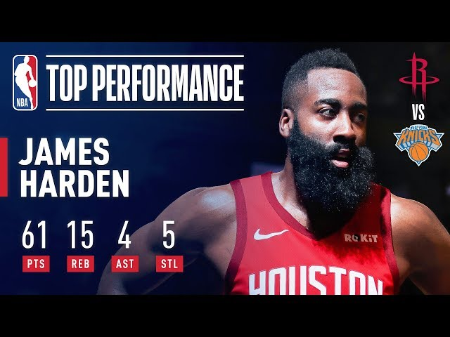 db7ae7d45e01 Standout games from Harden s 30-point streak