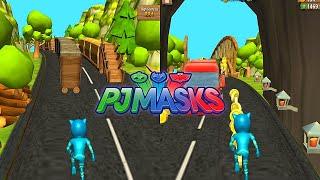 PJ MASKS: Héroes en Pijama - Catboy en Jungla carrera subterráneo Héroes en Carrera Disney Junior