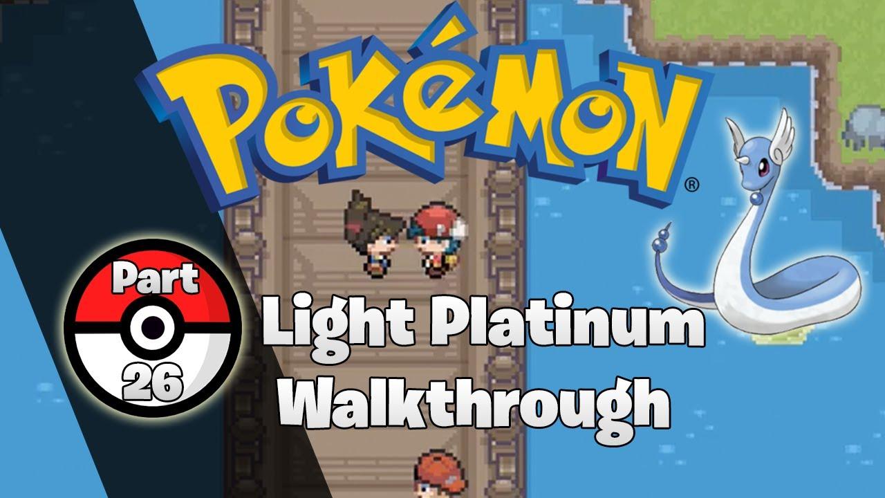 pokemon light platinum final walkthrough guide