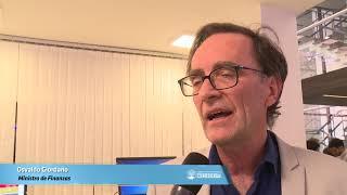 Giordano presidió la inauguración de remodelaciones en Catastro