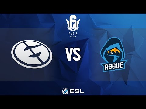 Six Major Paris - Semifinals: Evil Geniuses vs. Rogue