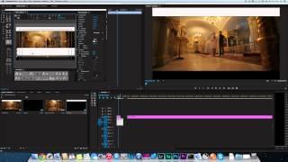 Шторки/Черные полоски/Секвенция 1920х824 в Premiere Pro