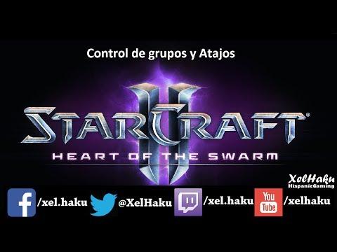 Starcraft 2 Juega como los pros :  Control de Grupos y Atajos con Terran