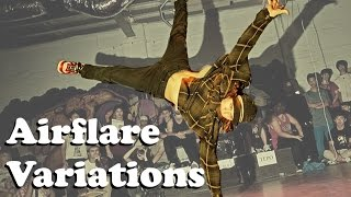 AIRFLARE VARIATIONS Vol.1 | BBOY ALL DAY