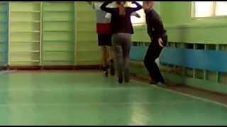 Урок физкультуры в школе №34
