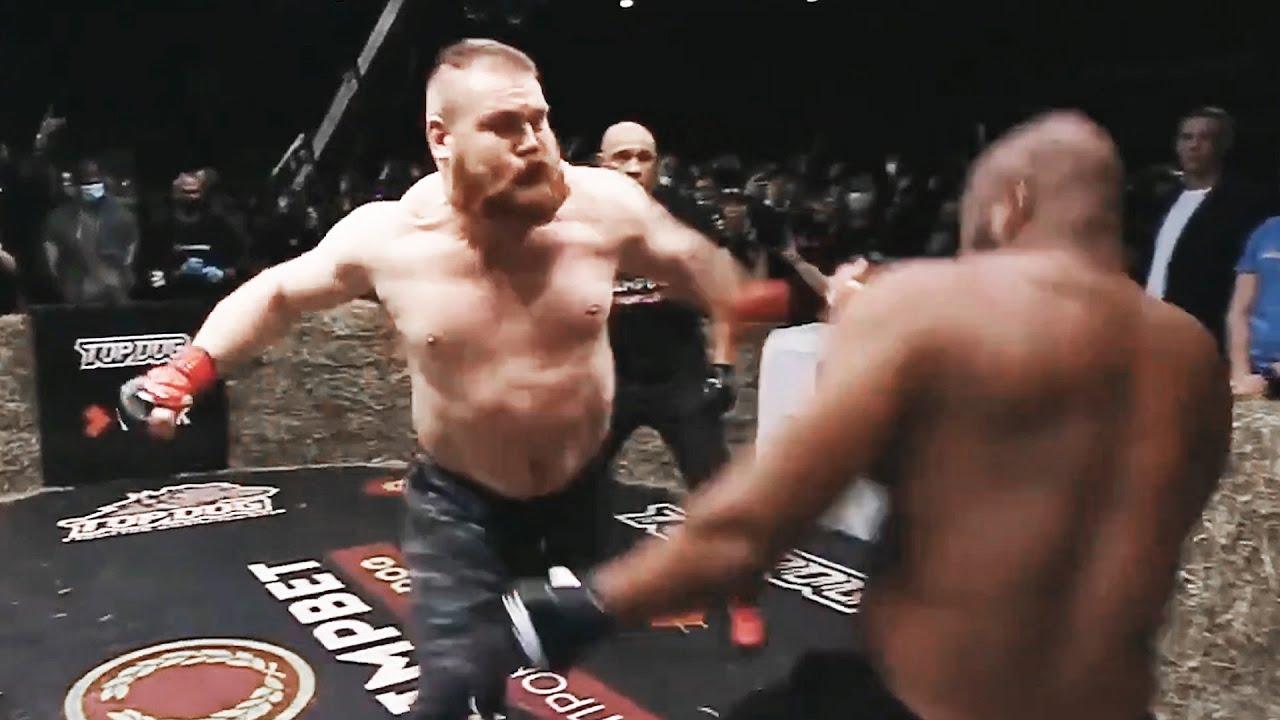 НАКАЗАЛ ЗА ПОНТЫ! Дацик против британского нокаутера Кофи Кинга / Бой на Top Dog