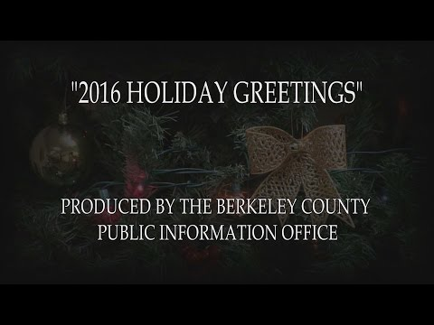 Berkeley County Holiday Greetings
