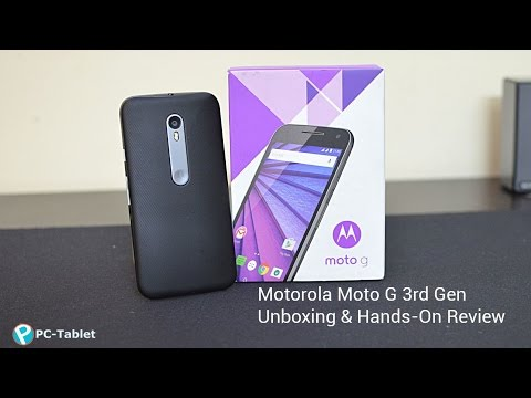 Motorola Moto G 3rd Generation Unboxing and Review