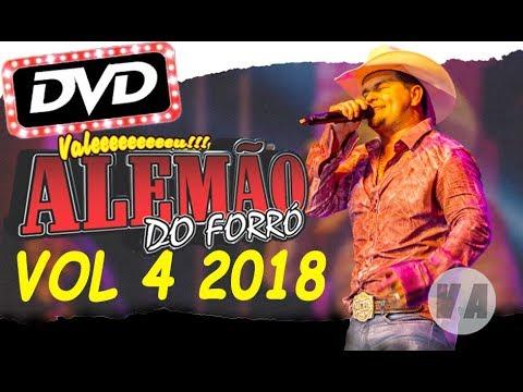 DVD Vol 4 Alemão Do Forró Ao Vivo Em Cariacica 2018 Completo