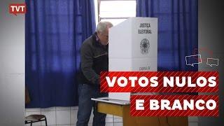 Desvendando mitos: votos nulos, brancos e não comparecimento