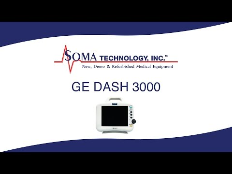 GE DASH 3000 - Soma Technology, Inc