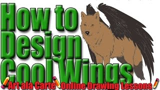 How to design cool wings for your wolf