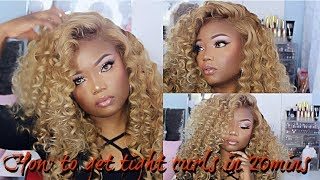 How to make your wig look like Beyonce's wig in 20 mins   Virgo hair