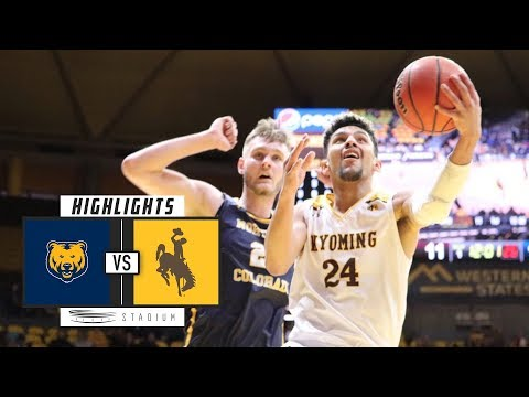 Northern Colorado vs. Wyoming Basketball Highlights (2018-19) | Stadium