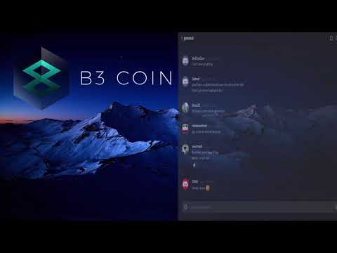 B3 Coin community meeting (March 21, 2018)