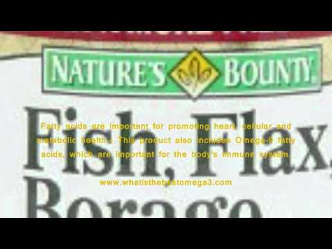 Nature Bounty Omega 3 6 9 Fish Flax Borage Reviews   Does Nature Bounty Omega 3 6 9 Fish Flax Borage