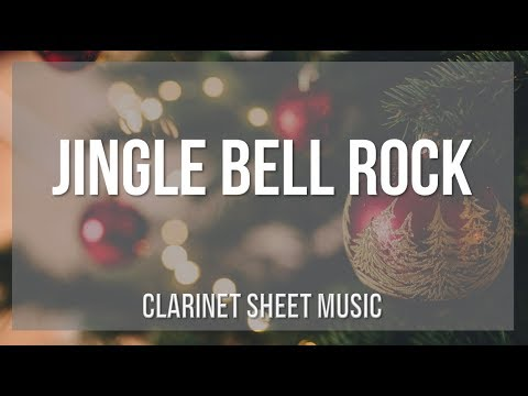 EASY Clarinet Sheet Music: How To Play Jingle Bell Rock By Bobby Helms