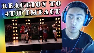 4th Impact X Factor UK 2015 Boot Camp: Tina Turner - Proud Mary Cover (REACTION)