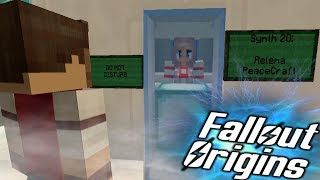SYNTH #20! Minecraft FALLOUT ORIGINS #3 ( Minecraft Roleplay SMP )