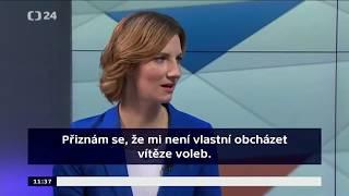 Nová primátorka Brna Markéta Vaňková bezostyšně lže veřejnosti