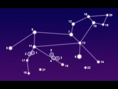 Как выглядит созвездие лев по точкам