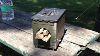 My version of an Ammo can stove