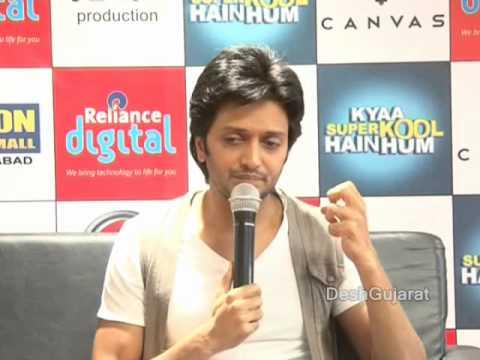 Tusshar Kapoor and Riteish Deshmukh promote Kyaa Super Kool Hain Hum