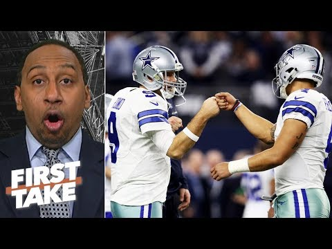 Dak Prescott is not better than Tony Romo - Stephen A. | First Take