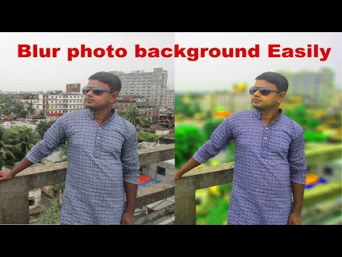 Blur your picture background | DSLR effect | Photo edit with adobe photoshop | Photoshop tutorial
