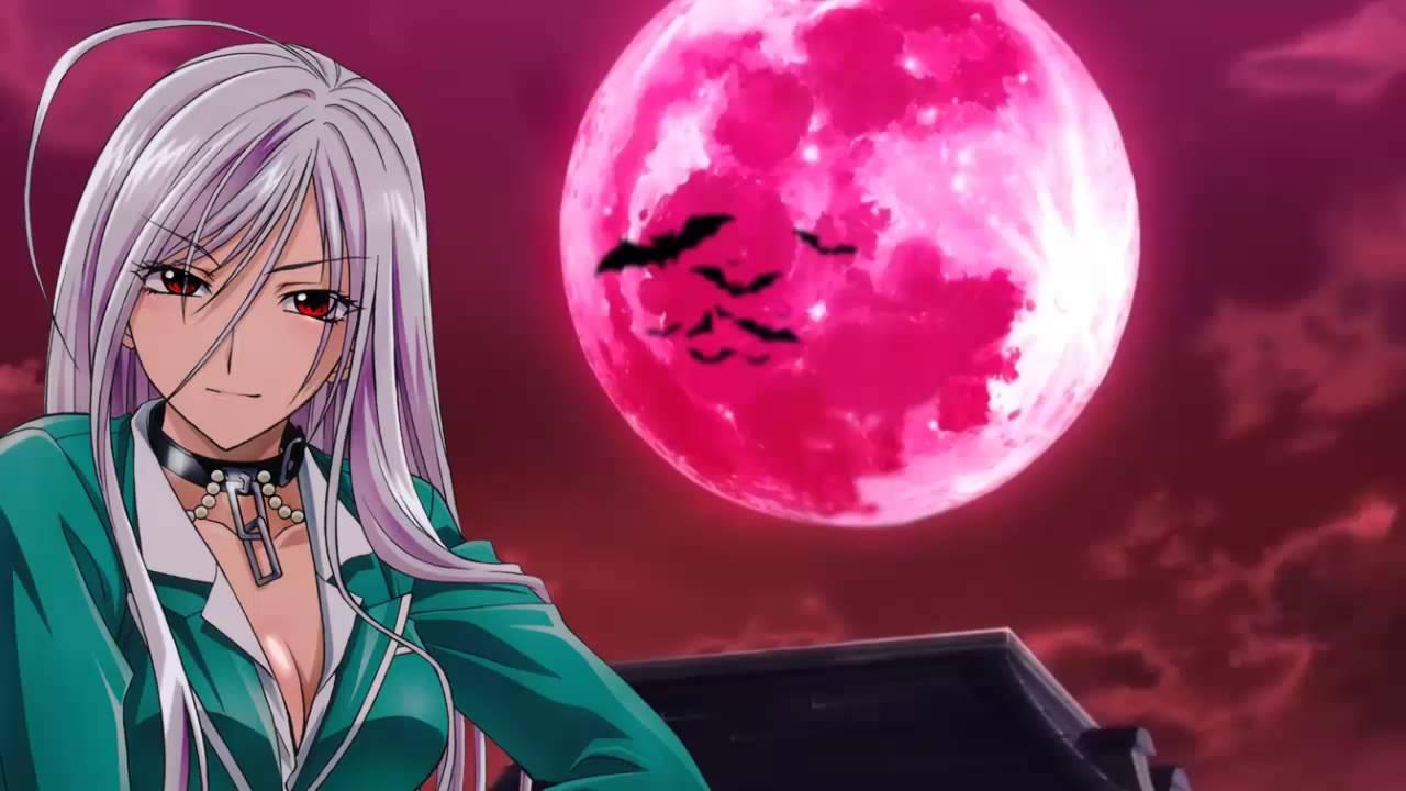 Rosario vampire dancing in the velvet moon - Wallpaper vampire anime ...