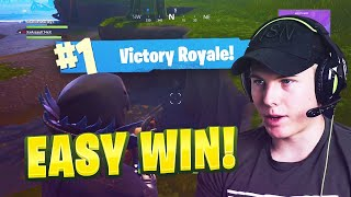 FORTNITE WITH FANS - EASY WIN in FORTNITE BATTLE ROYALE