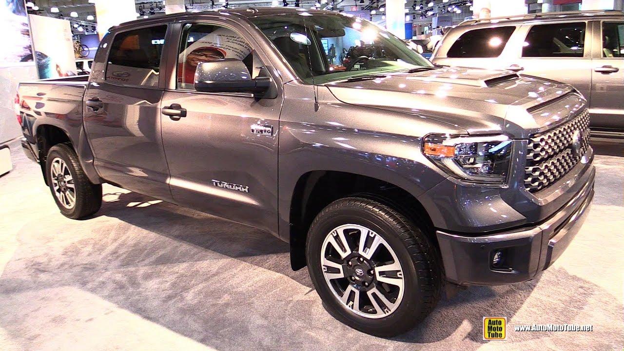 2018 toyota tundra interior. fine tundra 2018 toyota tundra trd sport  exterior walkaround 2017 ny auto show in toyota tundra interior