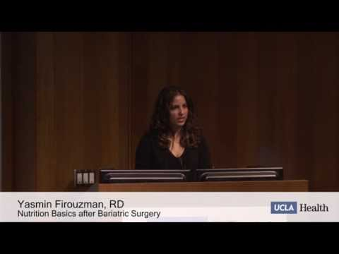 Nutrition Basics for Success After Bariatric Surgery | Yasmin Firouzman -UCLA Health