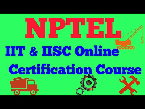 How to Join IIT and IISc Joint Initiative NPTEL OnLine Course For Engineering Students