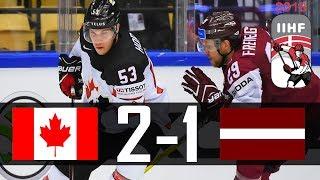 Canada vs Latvia | 2018 IIHF Worlds Highlights | May. 14, 2018