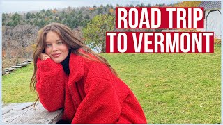 Girls Vermont Weekend Getąway VLOG | Fall Girls Road Trip | Emily DiDonato