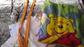 Детское постельное бельё своими руками(Этот ролик обработан в Видеоредакторе YouTube (https://www.youtube.com/editor), 2015-11-05T15:27:58.000Z)