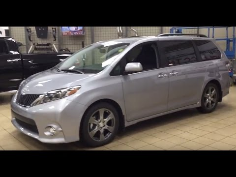 2017 toyota sienna se review youtube. Black Bedroom Furniture Sets. Home Design Ideas