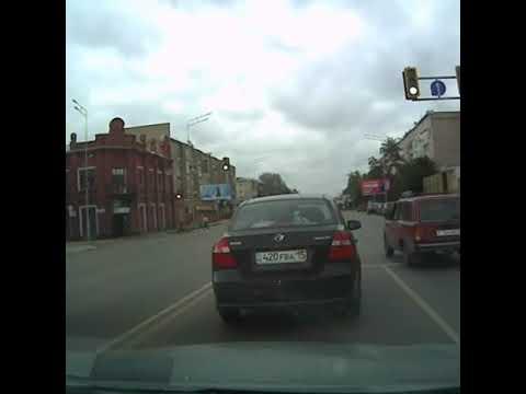 г.Петропавловск... Вот такие к...ы у нас на дорогах.