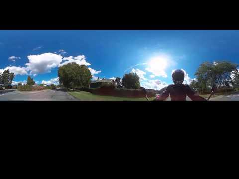Motorcycle ride in Herlev, Denmark