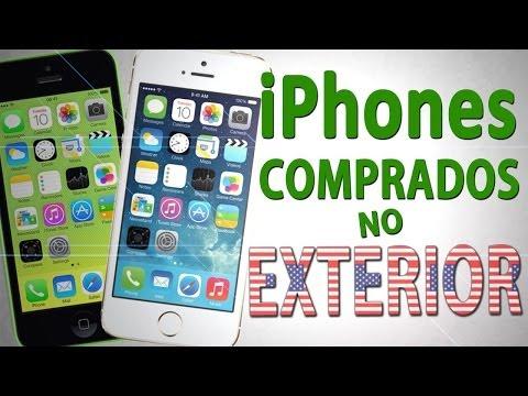 iPhone 5S e 5C - Compra no exterior, desbloqueio e 4G no Brasil