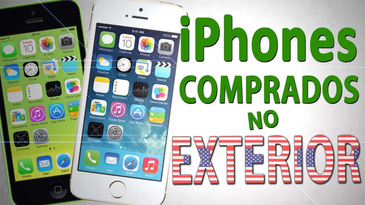 iPhone 5S e 5C - Compra no exterior, desbloqueio e 4G no Brasil ...