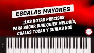 Curso de Piano - Música Cristiana - Clase 03 Escalas Mayores