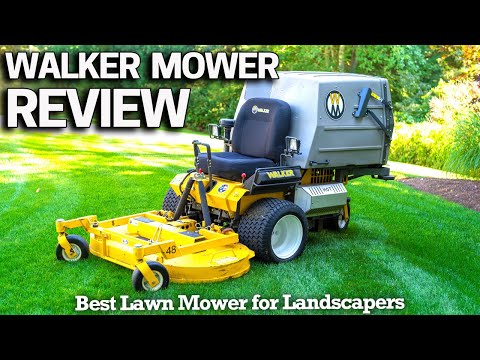 Walker T25i Lawn Mower Review & How To Pay For It