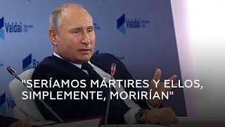 Putin sobre un posible ataque nuclear: