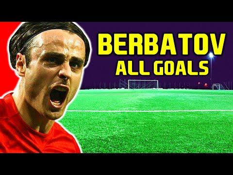 Dimitar Berbatov | All 94 Premier League Goals | Tottenham Hotspur | Manchester United | Fulham